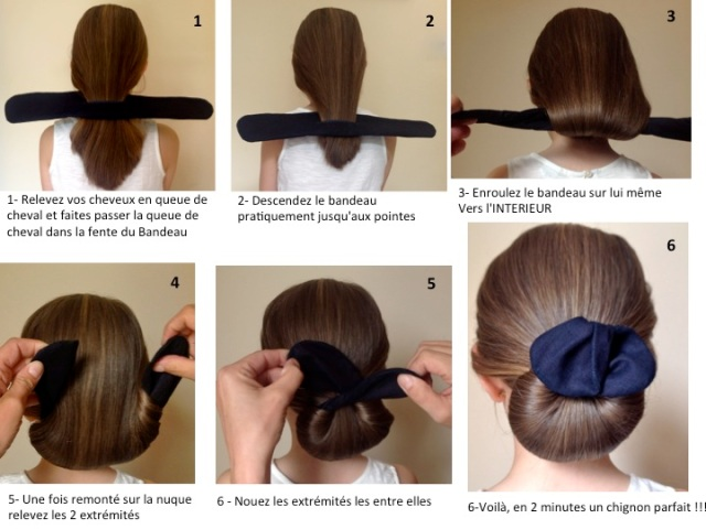 Chignon ron notice