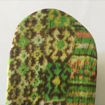 Bandeau Multicolores Vert Jaune Beige