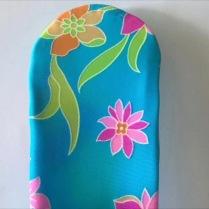 Bandeau Turquoise fleur des îles